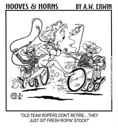 Old team ropers