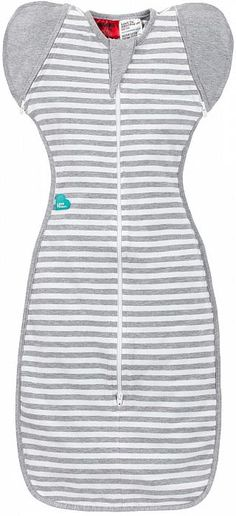 Love to Dream Swaddle Up 50/50 - Grey Stripes