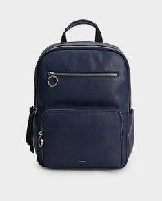 Mochila de mujer Parfois en azul con cremallera exterior · Moda · El Corte Inglés Moda Online, Fashion Backpack, Backpacks, Bags, Benefits Of, Navy Blue, Clothes For Girls, Feminine Fashion, Zippers