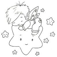 Sliekje digi Stamps: Star Fairy