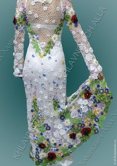 "Handmade dresses.  Fair Masters - handmade dress ""wedding bouquet"" Model №699.  Handmade."