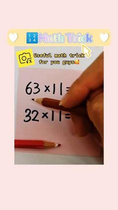 Math For Kids, Fun Math, Math Help, Life Hacks For School, School Study Tips, Math Skills, Math Lessons, Math Resources, Math Activities