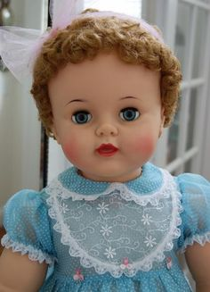 """28"""" Blonde Ideal Suzy Playpal Doll  $225"""