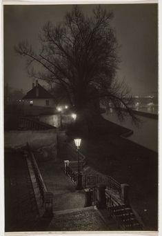 Josef Sudek. Prague at Night