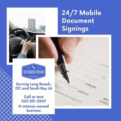 Now taking appointments for general notary work! 🖊 💼 🚘 I travel to you!  HOURS  Mon-Fri: 24 Hours Sat-Sun : 9AM - 7PM  CONTACT  Tel: 562.521.0269 Email: thebeardednotary@gmail.com  #notary #integrity #entrepeneurship #entrepreneur #smallbusiness #selfemployed #notarypublic #mobilenotary #thebeardednotary #longbeach #losangeles #orangecounty Mobile Notary, Notary Public, Long Beach, Appointments, Integrity, Business Tips, Entrepreneur, Sun, Travel