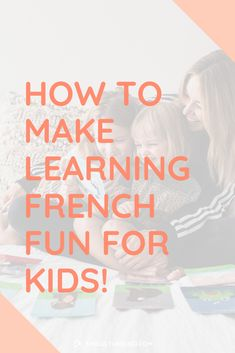 Ever wanted to know the best way to teach your kids the French language at home? Today I'm sharing on the importance of play and how you can introduce any foreign language through games and activities! Find out how you can get started today! Teach English To Kids, English Fun, Learn English, Teaching Social Skills, Teaching Kids, Kids Learning, Teaching French, Teaching English, Space Words