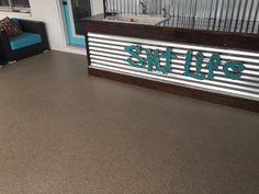 Epoxy Floor, Sidewalks, Flooring Ideas, Deck, Patio, Unique, House, Home Decor, Decoration Home