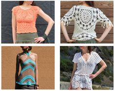 4 crochet patterns for this summer