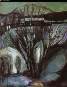 Edvard Munch Winter