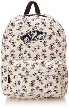 Disney Backpacks by Vans- Think I prefer this to the princess one. Disney Purse, Disney Vans, Disney Girls, Vans Rucksack, Jansport Backpack, Backpack Bags, Vans Backpack Girls, Backpack For Teens, Cute Backpacks