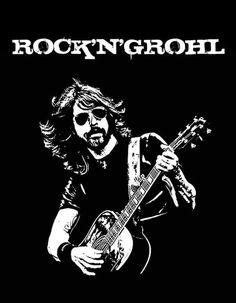 Rock 'n Grohl..aha.