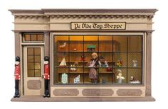 An English Style Toy Shoppe, Height of box 12 1/2 x width 20 1/4 x depth 8