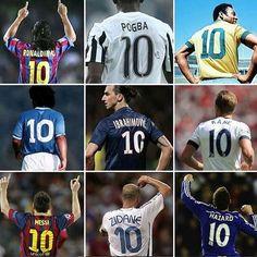 No 10 tetap menjadi idola para legenda...