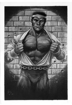LUKE CAGE Comic Art