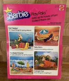 BARBIE Doll Vintage Play Paks Patio Party Pepsi Furniture 2316 Mattel 1978 Rare! | eBay Mattel Barbie, Barbie Dolls, Beach Fun, Pepsi, Vintage Barbie, Patio, Play, Furniture, Home Furnishings