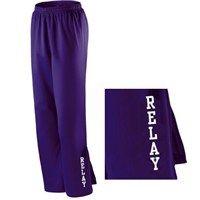 #RelayforLife Ladies Warm Up Pants; $26.99