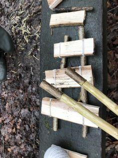 Wooden xylophone Outdoor music