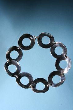 Tone Vigeland, Silver Necklace, 1960s.