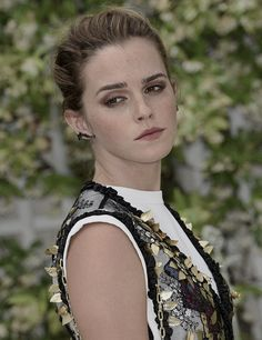 Emma Watson at 'The Circle' Paris Photocall on June 22, 2017 in Paris, France.