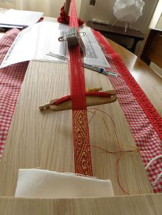 12th century brocade belt