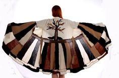 Recycled / Up-cycled sweater coat- The Winter Tree FREE SHIPPING and now on SALE on Etsy, $199.00