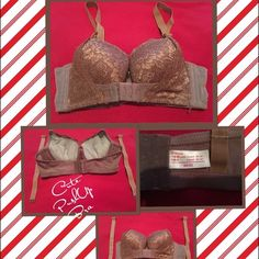 Cute Lace Bra Welcome  Bra with front extra push !! .   Cute bra, size 36/80.  I would say A cup.  (32-34A) Bought from Asia and they run small.  Never worn. Nice bra!! .   ** Any questions, please ask**.    ** Thank you for looking♥️**    **Happy Poshing!!.** Intimates & Sleepwear Bras