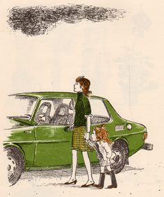 In the shop .... May I Visit? by Charlotte Zolotow, illustrated by Erik Blegvad (1976).