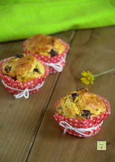 muffin ai pomodori secchi e olive taggiasche