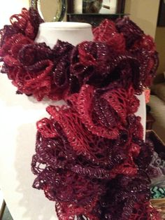 Boutique Sashay Tango-Ruffle Scarf on Etsy, $18.00