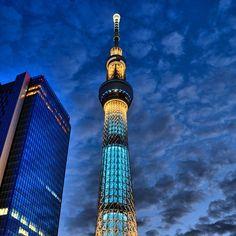 Tokyo Sky Tree / スカイツリー - @deepkaoru- #webstagram