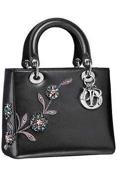 OOOK - Dior - Bags 2014 Fall-Winter - LOOK 8   Lookovore /// /Love this handbag. Elegant and charming.