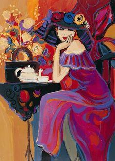 Ana Flores acrílico (Replica) 50x70 cms