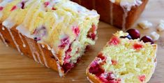Cranberry Lemon Bread: This Bread Disappears Faster Than a Toupee In a Hurricane! - Page 2 of 2 - Recipe Roost Orange Cranberry Loaf, Cranberry Bread, Orange Zest, Food Network Uk, Food Network Recipes, Crystalized Ginger Recipe, Cake Recipes, Dessert Recipes, Bread Recipes