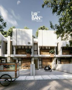 Container Architecture, Facade Architecture, Town House, House 2, Steel Frame House, Facade Design, Facade House, Little Houses, Minimalist Home