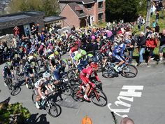 Once again the famed Mur de Huy would play a deciding role in Fleche Wallonne