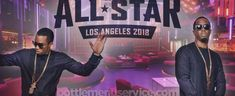 Line-up / Diddy. BottleMenuService presents 2018 NBA All-Star Weekend Kick Off with DIDDY – February 17, 2018. Get discount tickets to All Star Weekend Friday Kick off hosted by Diddy at Nightingale Plaza, Los Angeles, CA on 02/17/18, at 10:30 PM – 2:00 AM PST.