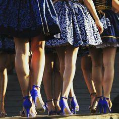 #blueprint #missfolklor 2015 #janagavalcova Skater Skirt, Indigo, Skirts, Projects, Blue, Fashion, Log Projects, Moda, La Mode