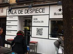 Buscas un nuevo Bar de tapas en Madrid: La Sala de Despiece http://emplatandomadrid.com/bares-en-madrid-la-sala-de-despiece/ #blog #restaurantes #madrid #foodie