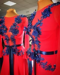#sale продаётся вот такая милота)) совершенно новое платье. Основа- бифлекс , рукава и вставка спереди из сетки. Цвет #flored . Очень яркое платье. Юбка годе и подъюбник из органзы. Украшено ярко-синими лейсами. Камни #stellux рост от 160-175, размер 42-44. По всем дополнительным вопросам в Директ или ✉ по e-mail - t9035917373@gmail.com ☎ по телефону - 8-903-591-73-73 (также доступен в WhatsApp,Viber)  #kozlova_official #платьетвоеймечты #standard Ballroom Dress, Gymnastics Leotards, Dance The Night Away, Peplum Dress, Jewlery, Beautiful, Dresses, Fashion, Winter Time