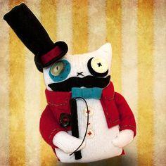 "Folksy :: Buy ""Monsieur Alphonse Poissonier"""