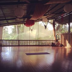 Most beautiful yoga studio in Dominical, Costa Rica - Bamboo YogaPlay.
