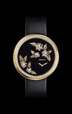 CHANEL - Watchmaking - MADEMOISELLE PRIVÉ CAMÉLIA LESAGE watch - H3821