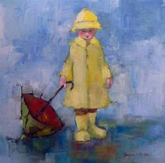 Angela Morgan. Preparing For Rain