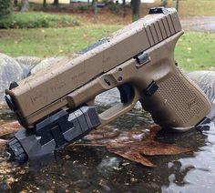 Glock 19 gen 4 Find our speedloader now! www.raeind.com or http://www.amazon.com/shops/raeind
