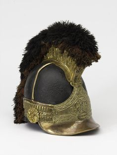 Officers' helmet worn by Captain William Tyrwhitt Drake, Royal Regiment of Horse Guards, 1815 (c) | Online Collection | National Army Museum, London