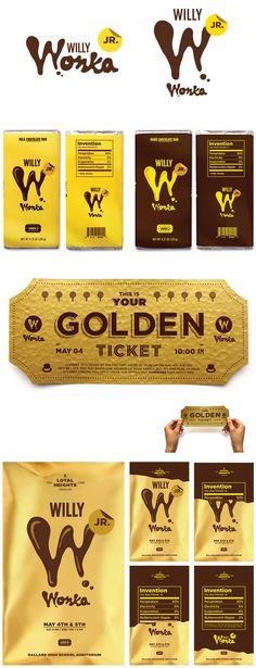 Willy Wonka Jr. - Packaging Inspired Marketing