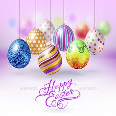 Happy Easter Cards With Eggs And Chick In Gray Style Card Shows