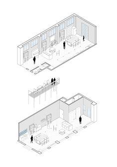 Presentation Board Design, Interior Design Presentation, Architecture Presentation Board, Architecture Collage, Architecture Graphics, Architecture Drawings, Architecture Portfolio, Architecture Details, Architecture Illustrations