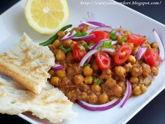 Curry and Comfort: Chickpea Masala Curry
