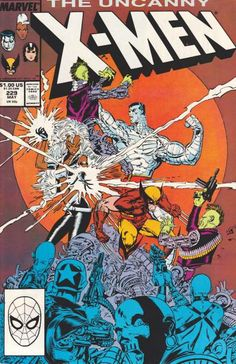 The Uncanny X-Men #229 - Down Under (Issue)